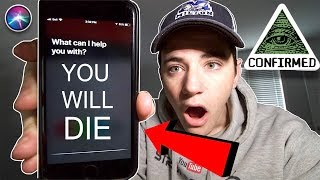 HOW TO GET SIRI TO TELL THE TRUTH AT 3AM CHALLENGE! (PROOF SIRI IS REAL) (SHE TOLD ME THIS)