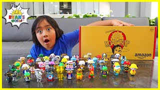 Ryan Collected ALL 53 Ryan's World Road Trip Collection and play Fun Board Game!!!