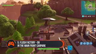 ALL 7 Pitch Locations in Fortnite  Season 4 Challenges
