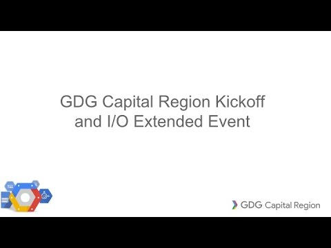 Google Developer Group of the Capital Region MeetUp; May 24, 2016