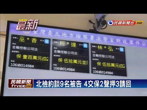 中信金爆土地賤售 前財務長張明田遭約談-民視新聞