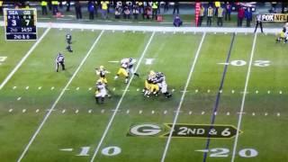 Richard Sherman #25 cheapshot at Davante Adams Packers