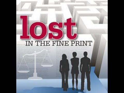 Lost in the Fine Print (HD)