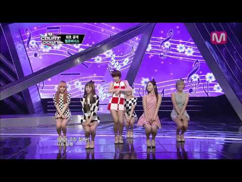 헬로비너스_차 마실래? (Would you like tea? by HELLOVENUS@Mcountdown 2013.5.2)