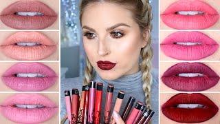 Kat Von D Everlasting Liquid Lipstick ♡ Lip Swatches Part 2