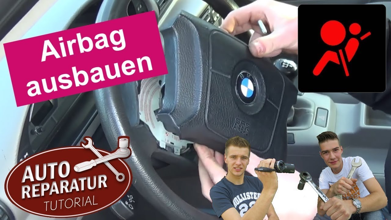 airbag ausbauen lenkrad ausbauen bmw e36 tutorial hd. Black Bedroom Furniture Sets. Home Design Ideas