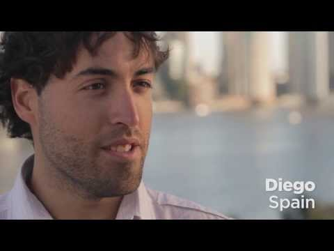 Study in Brisbane: Diego from Spain
