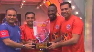 Champions of first-ever VR Cricket League | iB Cricket Super Over League | Orange Chargers