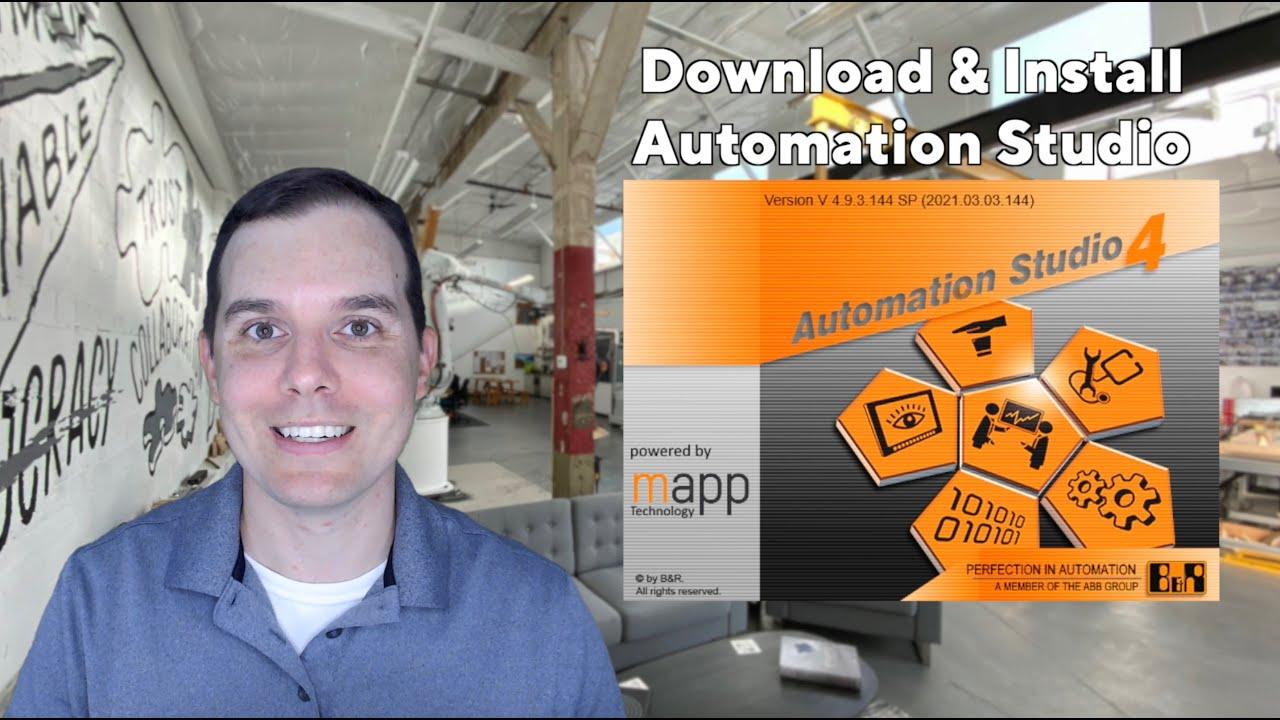 Hello B&R: Installing Automation Studio
