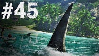 Far Cry 3 Gameplay Walkthrough Part 45 - Shark Attack - Mission 32