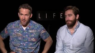 Ryan Reynolds & Jake Gyllenhaal Funny Press Junket Compilation