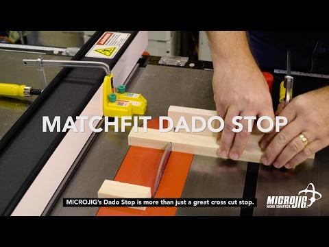 The MATCHFIT Dado Stop, a new MICROJIG Innovation!