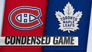 10/03/18 Condensed Game: Canadiens @ Maple Leafs