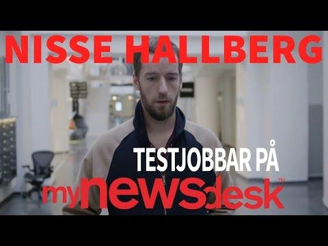Nisse Hallberg jobbar på Mynewsdesk: Del 1 - Säljaren