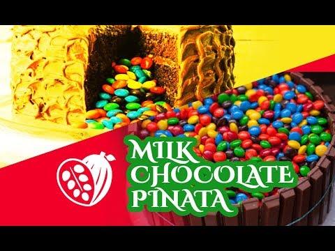 Milk Chocolate Piñata Recipe - Chocolak