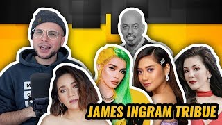 Regine V, Morissette A, Kyla, KZ - James Ingram Tribute | ASAP Natin To | REACTION