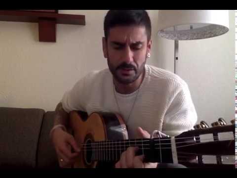 Nuestro gran amigo Melendi y su guitarra Francisco Bros.
