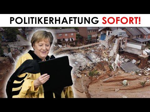 Hochwasserkatastrophe: Totales Versagen der Politik! Fakten, Filmdokumente, Beweise! Merkel, Laschet