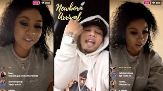 Ari Confesses Her Love For Boxer Gervonta Davis On IG Live! 😘