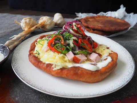 Co na obiad:  Węgierski Langosz