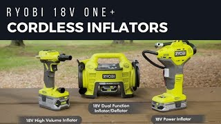 Video: 18V ONE+™ Dual Function Inflator / Deflator