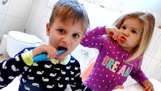 My Morning Routine - Roma and Diana, video for children