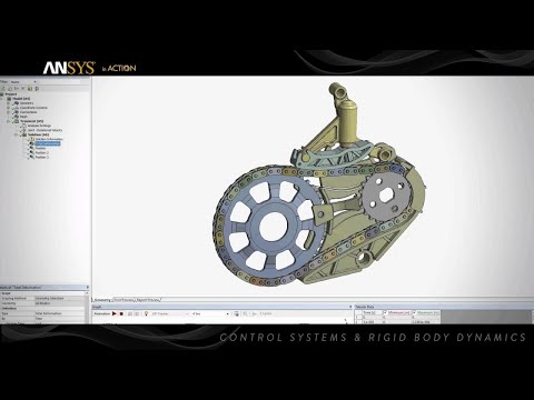 ANSYS in Action - Control Systems & Rigid Body Dynamics