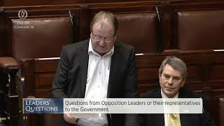 Deputy Michael Collins - Leaders' Questions - 17.01.2019
