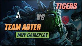 Dota Tournament: Team Aster vs Tigers MVP Gameplay | Betway Asian Dota League