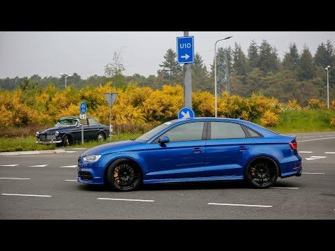 480HP Audi S3 Sedan w/ Milltek Exhaust - LOUD Accelerations