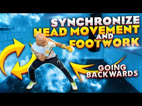 Head Movement and Boxing footwork Going Backwards