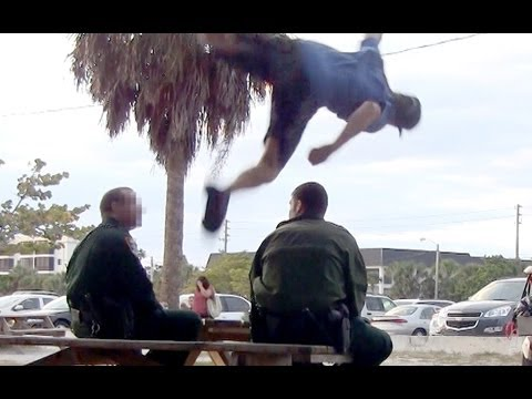 Jumping Over a Cop