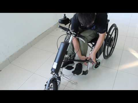 RisunMotor Wheelchair Electric Attachment Correct Using method