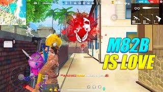 M82B Is Love - Good Solo vs Duo Gameplay But less Kills | Garena Free Fire | P.K. GAMERS