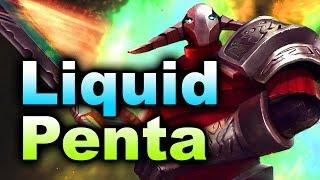 Liquid vs Penta - Sven Miracle- ESL Genting 2018 Minor DOTA 2