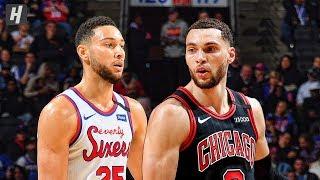 Chicago Bulls vs Phildelphia 76ers - Full Game Highlights   January 17, 2020   2019-20 NBA Season