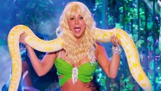 Kaley Cuoco & Her LIVE Snake Dominated on 'Lip Sync Battle'
