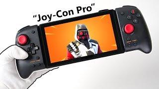 "Nintendo Switch ""JOY-CON PRO"" Controller Unboxing! (aka Split Pad Pro) + Gameplay"