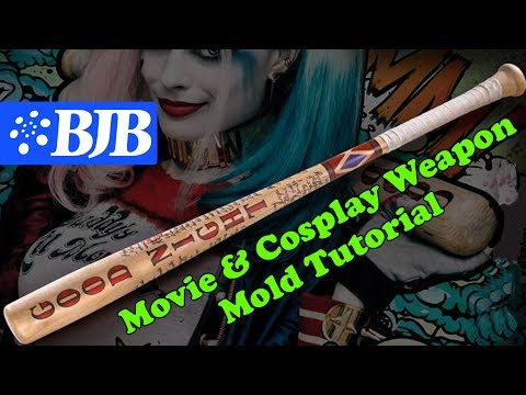 Mold Making Tutorial: Mother Mold & Foam Weapon for Movies & Cosplay