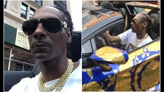 Snoop Dogg Joyrides 50 Cent's Lamborghini For Tycoon Weekend Pool Party