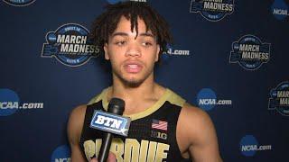 Cline, Edwards, & Painter Talk Loss to Virginia | Purdue | 2019 NCAA Tournament
