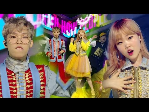 《EXCITING》 AKMU(악동뮤지션) - HOW PEOPLE MOVE(사람들이 움직이는 게) @인기가요 Inkigayo 20160529