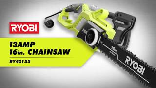 "Video: 13 AMP ELECTRIC 16"" CHAIN SAW"
