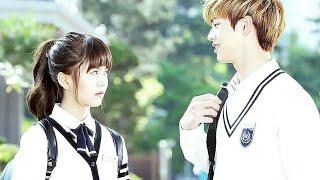 Dheere Dheere Se 😍 Student Crush Love Story || Korean Cute Love Story || Hindi Song Korean Mix 2018