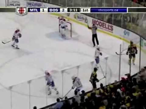 Canadiens @ Bruins Game 1 4-16-09