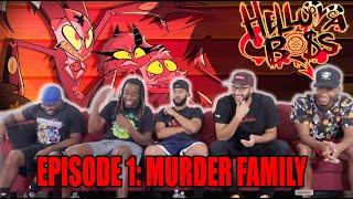 HELLUVA BOSS - Murder Family // S1: Episode 1 Reaction/Review