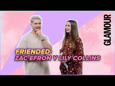 Zac Efron y Lily Collins: ¿cómo se conocieron? Los actores hablan de su amistad