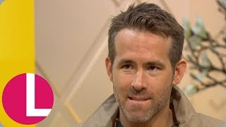 Ryan Reynolds Says He Was 'Born' to Play Deadpool | Lorraine
