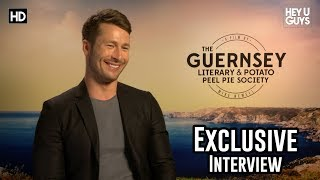 Glen Powell on finding hope with The Guernsey Literary and Potato Peel Pie Society - Interview