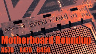 Buildzoid's massive AM4 motherboard roundup 2019 // ALL X570 X470 and B450
